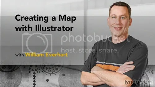 Creating a Map with Illustrator Training