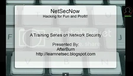 Hacking Training Series with Backtrack-Metaspoloit-Armitage and others