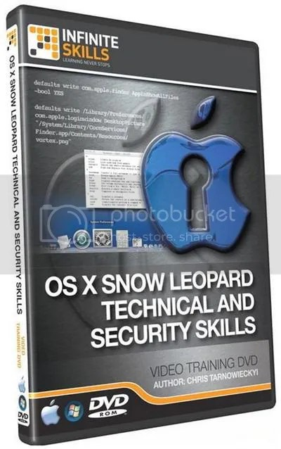 Infiniteskills - OS X 10.6 Technical and Security Training Video