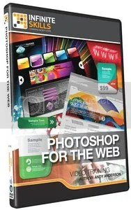 InfiniteSkills - Learning Photoshop for The Web Video Training
