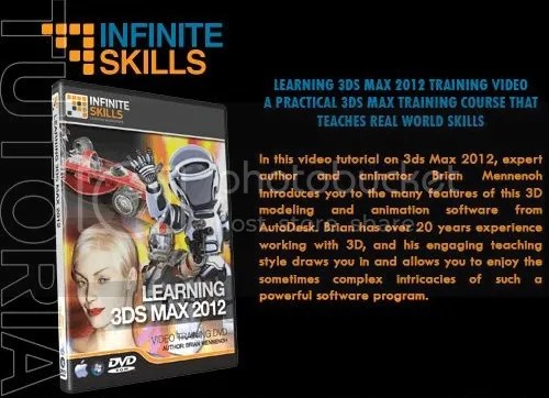 Infiniteskills - 3DS Max 2012 Training + Working Files