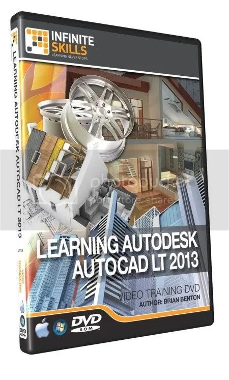 Infiniteskills - Learning AutoDesk AutoCAD LT 2013 + Working Files