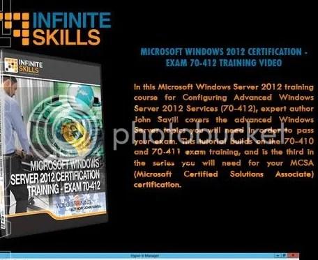 Infiniteskills - Microsoft Server 2012 Certification – Exam 70-412 + Working Files