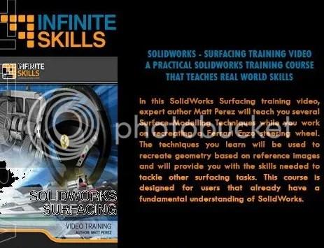 Infiniteskills - SolidWorks - Surfacing + Working Files
