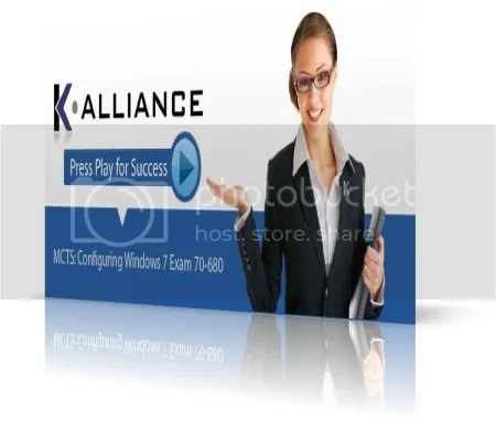K-Alliance Training - MCTS: Configuring Windows 7 Exam 70-680