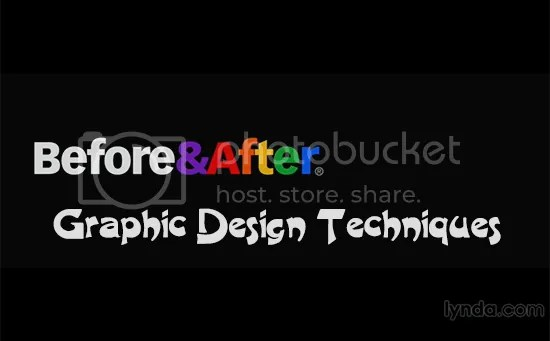 Lynda - Before and After Graphic Design Techniques