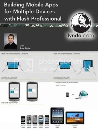 Lynda - Building Mobile Apps for Multiple Devices with Flash Professional Video Interactive Tutorials