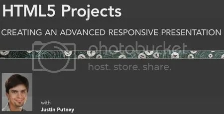 Lynda - HTML5 Projects: Creating an Advanced Responsive Presentation