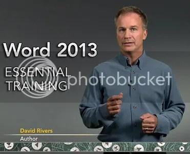 Lynda - Word 2013 Essential Training