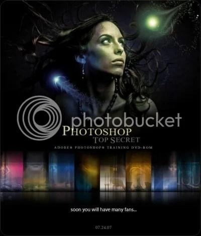 Photoshop Top Secret Bonus DVD Extras - Interactive Video Tutorial