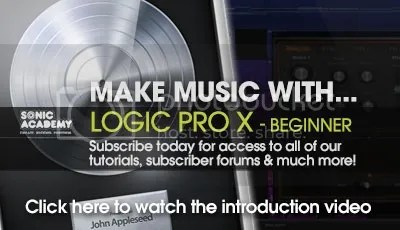 Sonic Academy Make Music With Logic Pro X For Beginners Tutorials