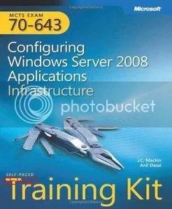 TestOut - LabSim 70-643 - Configuring Windows Server 2008 Applications Infrastructure
