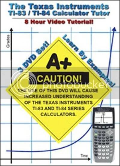 The TI-84 / TI-83 Calculator Tutorials Training