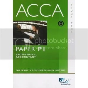 ACCA P1 Professional Accountant PA - Paper P1 - Complete Text (Video + Book)