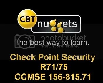 CBT Nuggets – Check Point Security R71/75 CCMSE 156-815 71