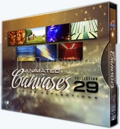 Digital Juce - Animated Canvases Collection 29 Prime Reflections