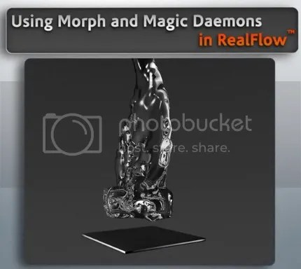 Digital Tutor - Using Morph and Magic Daemons in RealFlow 5