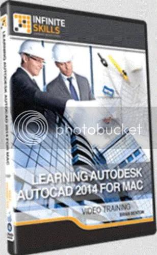 Infiniteskills - Learning Autodesk AutoCAD 2014 For Mac & AutoCAD LT for Mac