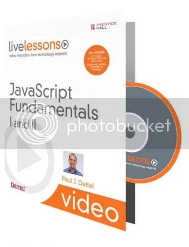LiveLessons - Javascript Fundamentals I and II