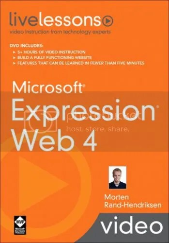 LiveLessons - Microsoft Expression Web 4
