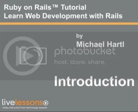 LiveLessons - Ruby on Rails Tutorial ,2nd Edition
