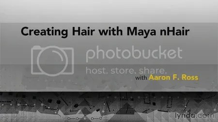 Lynda - Creating Hair with Maya nHair