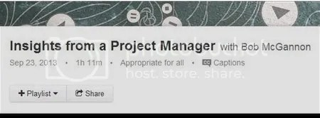 Lynda - Insights from a Project Manager