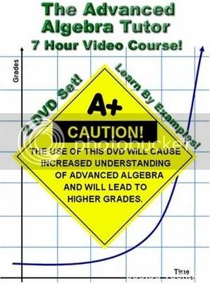 Math Tutor - The Advanced Algebra Training