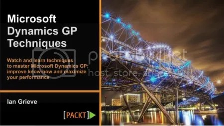 Packtpub - Microsoft Dynamics GP Techniques