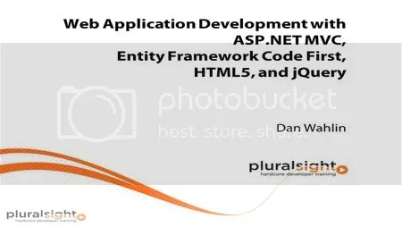 Pluralsight - Building ASP.NET MVC Apps with EF Code First, HTML5, and jQuery