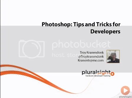 Pluralsight - Photoshop Tips and Tricks For Developers