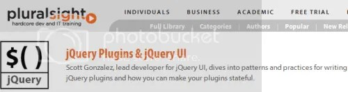 Pluralsight - jQuery Plugins & jQuery UI