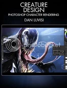 Stan Winston School - Creature Design - Photoshop Character Rendering