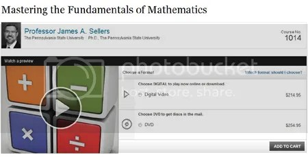 TTC – Mastering the Fundamentals of Mathematics