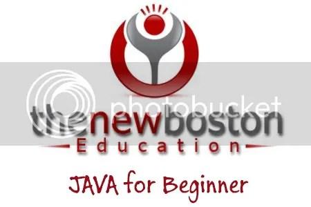 TheNewBoston - Java Tutorial - Beginner to Intermediate