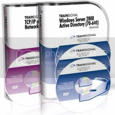 Trainsignal - Windows Server 2008 R2 Active Directory 3DVDs Training (70-640)