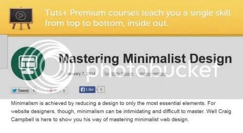 Tuts+ Premium - Mastering Minimalist Design