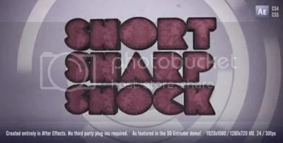 Videohive – After Effects Project Files – Short Sharp Shock