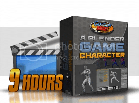 CartoonSmart - A Blender Game Character : Nearly 8 Hours Plus a 90 Minute Primer Course