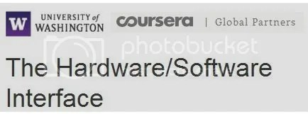 Coursera - The Hardware/Software Interface
