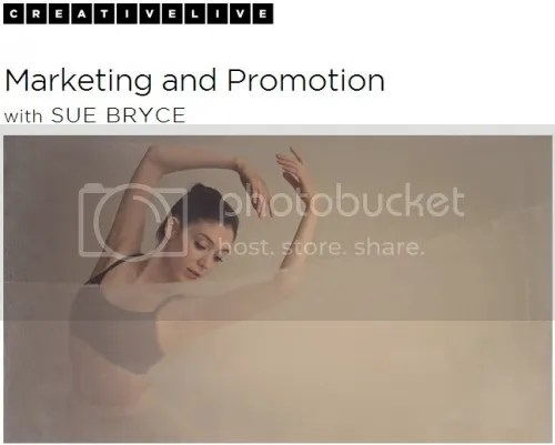 CreativeLIVE - Marketing and Promotion with Sue Bryce