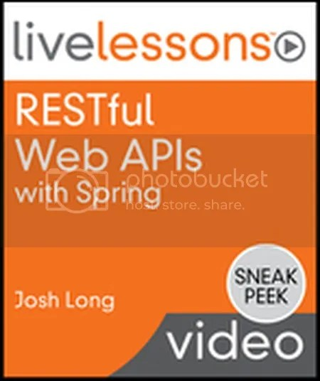Livelessons - Restful Web Apis With Spring
