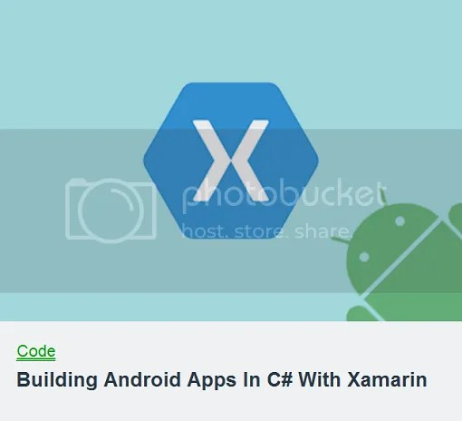 TutsPlus - Building Android Apps In C# With Xamarin