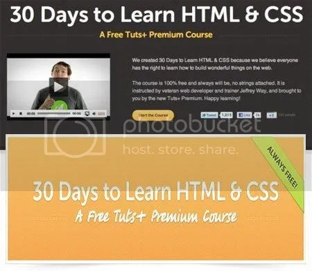 Tuts+ Premium - 30 Days to Learn HTML and CSS
