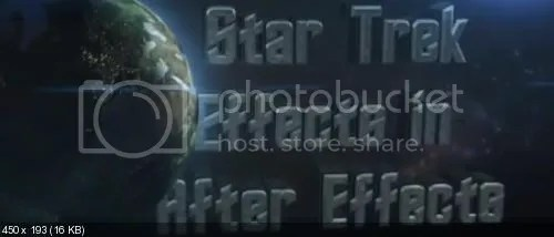 Udemy - Developing Star Trek Effects in After Effects