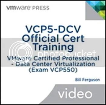 VCP5-DCV Official Cert Training