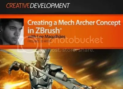 Digital Tutors – Creating a Mech Archer Concept in ZBrush