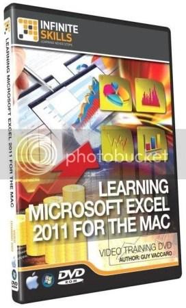 InfiniteSkills - Learning Microsoft Excel 2011 Training For Mac