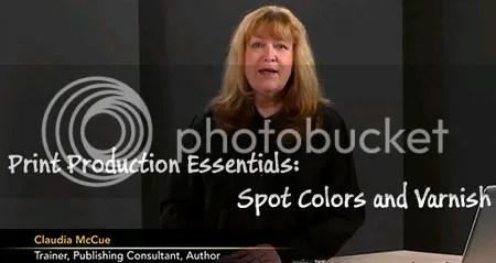 Lynda - Print Production Essentials: Spot Colors and Varnish