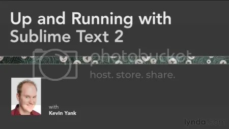 Lynda – Up and Running with Sublime Text 2